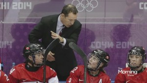 Canadian women's hockey team coach Kevin Dineen